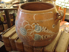 "MEXICAN CERAMIC POT WITH HANDLES • <a style=""font-size:0.8em;"" href=""http://www.flickr.com/photos/51721355@N02/15866860227/"" target=""_blank"">View on Flickr</a>"