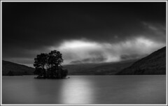 Loch Tay (ShinyPhotoScotland) Tags: longexposure trees wild blackandwhite panorama blur art nature water manipulated dark lens landscape photography scotland flora moody gloomy dynamic emotion horizon perthshire gimp places rules motionblur filter zen vista balance serene flowing bluehour loch stark awe striking distance simple drama toned solitary kenmore contrasts hdr stacked turbulence elegance lochtay goldenmean transience hugin circularpolariser crazyart sumptuous nearfar digikam tonemapped landwater skyearth shapeandform rawconversion timeflows statesofwater luminancehdr sony1855 darktable photivo digitalbloom digitalgradnd digitallowpass digitalc2g digitalpurplefilter timefulness