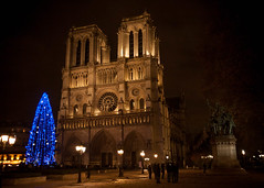 Notre Dame (The Muffin  Man) Tags: paris france church night europe cathedral illuminated notredame nighttime notre dame