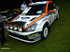 McRae (BenGPhotos) Tags: auto show 2002 white london ford sports car colin race focus chelsea stripes rally martini wrc legends rs mcrae motorsport 2012 rallying msport rcaing x7fmc