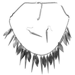 5th Avenue Black Necklace P2140-4
