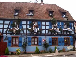 l'autre face de ce restaurant en Alsace !!