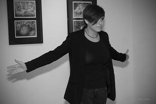 Lezbična četrt 2014; Stand up Ksenija Vozelj; KUD France Prešeren
