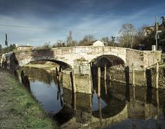 DSC_0035-Modifica (mauro.valenti) Tags: bridge sky italy water photoshop river ticino nikon hdr lightroom d5100 nikond5100