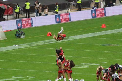 NFL 2014 International Series Lions - Falcons Cheerleader