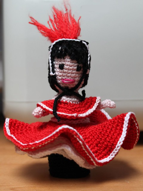 Amigurumi Crochet FRENCH CANCAN