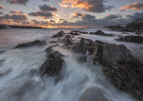 'Sea-Swept Sunrays' - Porth Cwyfan, Angl by Kristofer Williams, on Flickr