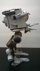 Advanced AT-ST (side view) (AJV777) Tags: original toy star lego creation empire imperial wars moc atst