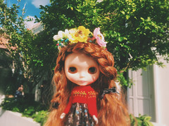 #Flower #girl 🌸🌼🍀 #love #blythe #doll #ブライス  #sunnyday
