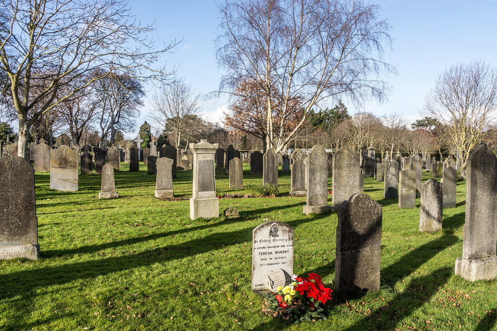 Glasnevin Cemetery, officially known as Prospect Cemetery REF-101117
