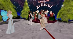 Showtime - White Christmas (Osiris LeShelle) Tags: life christmas white dance community call theater heart dancing grove stage curtain group performance broadway secondlife second showtime curtaincall avilion whitechristmans