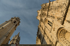 Le monastre des hironymites (hubertguyon) Tags: city portugal europe lisboa lisbon capital belem monastery capitale ville monastre lisbonne hironymites hieronymite