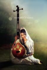 Mira Bai (The Eternal Sunshine Art Works) Tags: music love indian poet krishna hindu mira meera veena tanburu