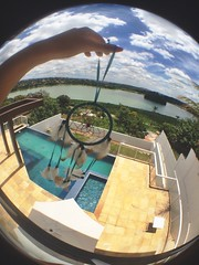 everything is new (dbo-ra) Tags: blue pool piscina dos da lagoa dreamcatcher pampulha sonhos filtro