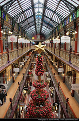 Strand Arcade, Sydney, Australia (JH_1982) Tags: christmas street new xmas tree retail wales architecture strand mall john shopping weihnachten star george south arcade decoration sydney victorian australia indoor historic nsw shops australien spencer pitt australie        sdney