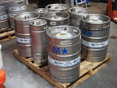 Kegs up for sale.