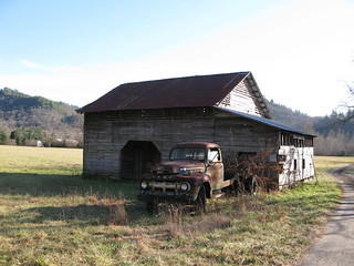 Old Barn, Old Truck