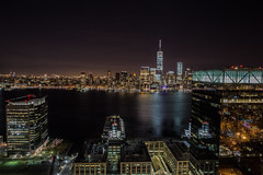 Jersey City meets New York City (Justin Tsai Photography) Tags: city nyc tower river freedom jersey hudson