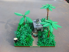 Ambush on the Ho Chi Minh trail (tyfighter07) Tags: lego vietnam trail chi ho minh moc battlelug brickbuilder7