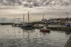St Monans Harbour, East Neuk, Fife (Colin Myers Photography) Tags: old church st parish colin photography scotland town seaside fishing village harbour fife scottish kingdom sunny east picturesque ye olde myers stmonans eastneuk monans neuk colinmyersphotography wwwcolinmyerscom