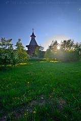 -  (lhemund) Tags: wood sunset sun tower architecture landscape wooden nikon sundown outdoor moscow sunsets tamron