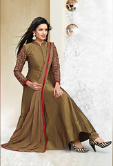Readymade Tan Brown Art Silk Anarkali Shalwar Suit (nikvikonline) Tags: uk wedding usa brown canada color fashion festival work women designer australia wear fancy online frock weddingdress desinger kameez shalwar anarkali womenswear dailywear freeship freeshipping womenclothing fashiondress designerwear womenfashion weddingwear designersuit designercollection onlinewomens anarkalisuitsdesigns onlinekameez achkanstyle kamizonline brownsalwar brownkamiz brownkamizsalwar