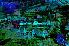 green market scene (j.p.yef) Tags: abstract digitalart morocco marrakech abstrakt yef djemaaelfna peterfey jpyef