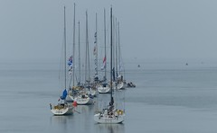 Three Peaks Yacht Race (Charos Pix) Tags: sailors runners yachts fortwilliam barmouth toottoot whitecloud tactix