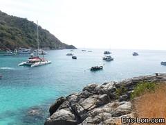 Raya Island Phuket snorkeling (13) (Eric Lon) Tags: sea mer fish swim stars thailand island nager holidays jellyfish ile diving snorkeling corals poissons etoiles coraux meduse plonger ericlon