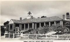 Murray Views No 5 District Hospital, Junee, NSW (Daddys 'lil Girl) Tags: postcard australia nsw historical 1949 wagga albury junee riverina