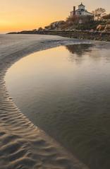 abode on the hill (vikkiq) Tags: lighting house beach home sunrise massachusetts newengland rockport goodharborbeach capeann