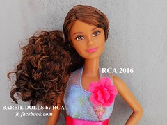 Barbie fashionista petite (Barbie dolls by RCA) Tags: blue dress barbie skipper teresa fashionista petite 2016