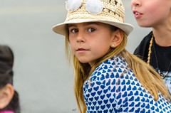 Looking Back [Explored 05-20-2016] (Kevin MG) Tags: ca girls people usa cute hat kids youth losangeles pretty little young sfv northridge explored explored20160520