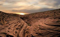 Antelope Canyon from above (RigieNL) Tags: usa antelopecanyon page arizona hdr