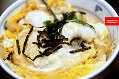 Prawn & Egg Don (APERTURE X & THE CULINARY ADVENTURER) Tags: food japan kamakura egg prawns ricedon