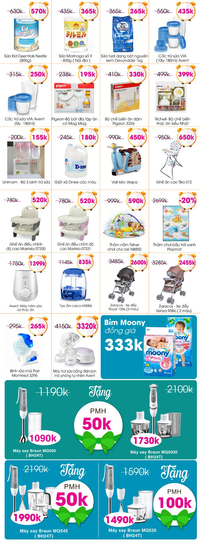 Lucky Friday: List sản phẩm giá vàng Online Thứ 6 ( 08/07/2016)