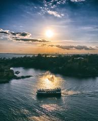 High Afternoon (BigWhitePelican) Tags: sea sky sun water finland islands boat helsinki may suomenlinna 2016 canoneos7d adobelightroom6