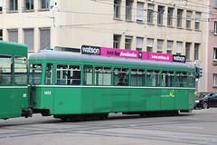 1499 (KennyKanal) Tags: tram grn aw bv bvb ffa altenrhein basler verkehrsbetriebe schienenfahrzeug drmmli