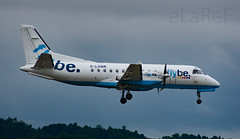 G-LGNM Saab Sf340 c/n 187 Loganair but flybe colours (eLaReF) Tags: ingliston scotland unitedkingdom glgnm saab sf340 cn 187 loganair but flybe colours edinburgh turnhouse egph