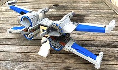 wings done ! (atlas_er) Tags: star force lego wing 7 x xwing wars episode vii moc t70 starfighter awakens