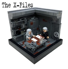 "The X-Files ""U.S.S. Argent"" - Part7 (markus19840420) Tags: lego contest vignette xfiles moc foxmulder danascully aktex imperiumdersteine serienjunkie ussargent"