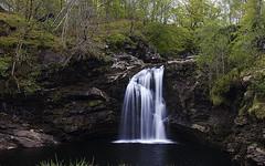 Flowing smooth (jkotrub) Tags: lochlomond loch lomond beauty water waterfall flow river stream brook scotland
