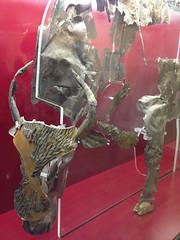 Silver Statue of a Bull, Delphi (Andy Hay) Tags: 2016 bull delfoi delphi delphiarchaeologicalmuseum greece offerings phocis room4 sanctuaryofapollo silver