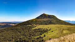 Puy de Dôme (cleostan) Tags: puy de dôme auvergne france cleostan lachaînedespuys volcan magma vert nature green supershot