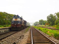 KCVL - BVC Exp. (B V Ashok) Tags: konkan kr kuda kundapura sr kocuvelibhavnagar kcvlbvc 19259 express wr vta vatva wdm3a alco 18669 flickrtravelaward