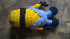Minion Stuart (Pequena do Sol) Tags: minionstuart amigurumi crochê