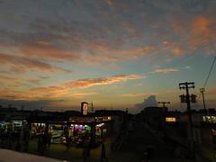 Sunset in Wildwood (cjsjersey) Tags: summer outdoors beauty view people clouds dusk sky sunset beach boardwalk nj newjersey wildwood