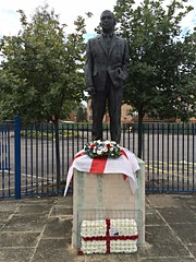 Statue of Sir Alf Ramsey on Portman Road, Ipswich (Ian Press Photography) Tags: statue sir alf ramsey portman road ipswich football soccer world cup itfc town 1966 england manager