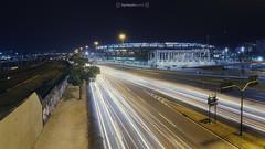 Maracana Stadium - Rio de Janeiro - Brazil (higordepadua) Tags: riodejaneiro 2016summerolympicsriodejaneiro olympics rio2016 stadium soccer futebol football maracana sports nightphotography car trails cityscape