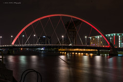Clyde Arc Bridge (andyp178) Tags: bridge river clydearc night longexposure